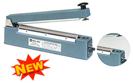 SEMI-AUTOMATIC HAND IMPULSE SEALERS WITH HOLDING MAGNET