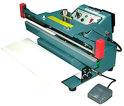 AUTOMATIC TABLE TOP SINGLE IMPULSE HEAT SEALERS
