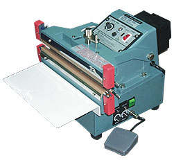 AUTOMATIC OR MANUAL SINGLE/DOUBLE IMPULSE SEALERS
