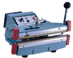 HAND OPERATED DOUBLE IMPULSE SEALERS