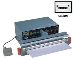 AUTOMATIC PROGRAMMABLE IMPULSE SEALERS