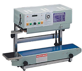 PORTABLE VERTICAL BAND SEALER